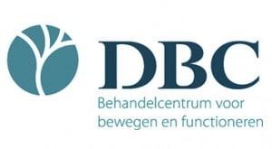 Logo DBC - Behandelcentrum voor bewegen en functioneren